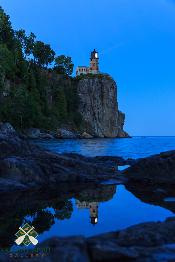 &quot;Split Rock's Candle&quot;<br />
