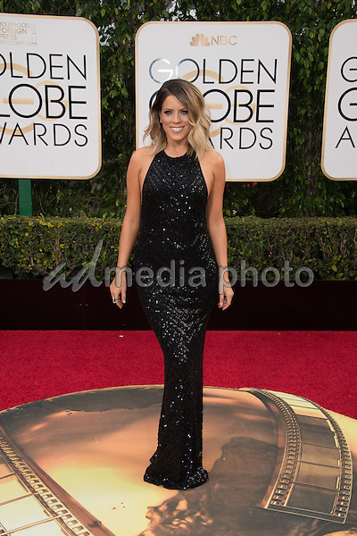 Stephanie Bauer attends the 73rd Annual Golden Globes Awards at the Beverly Hilton in Beverly Hills, CA on Sunday, January 10, 2016. Photo Credit: HFPA/AdMedia