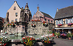 Church Square in Equisheim, France