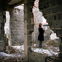 Sabrina was only 13 years old when she was raped during the 1992 - 1995 war in Bosnia. ©Robin Hammond/PANOS/Felix Features