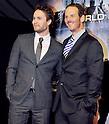 "Taylor Kitsch, Peter Burg, Apr 03, 2012 : Tokyo, Japan : Actor Taylor Kitsch(L) and director Peter Burg attends the world premiere for the film ""Battleship"" in Tokyo, Japan, on April 3, 2012.The film will open on April 13 in Japan."
