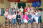 40th Birthday: Dan Flavin, Bunagara, Listowel , seated centre, celebrating his 4oth birthday with family 7 friends at the KIngdom Bae, Listoel on Saturday night last.