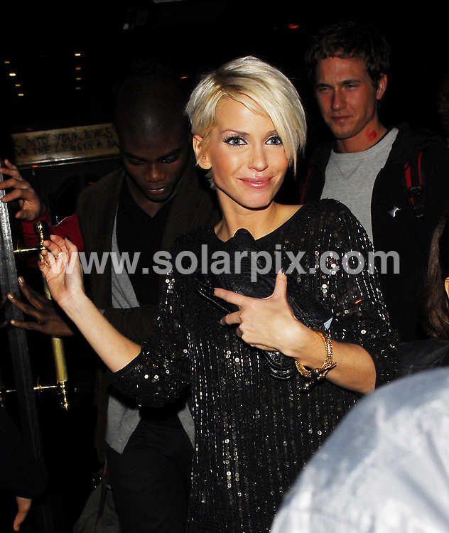 **ALL ROUND PICTURES FROM SOLARPIX.COM**.**WORLDWIDE SYNDICATION RIGHTS**.Girls Aloud and the Sugababes party at The Burlington Club to celebrate Kimberly Walsh's 26th Birthday which was on the 20th November..This pic:SARAH HARDING.JOB REF:5397-LDY        DATE:24_11_07.**MUST CREDIT SOLARPIX.COM OR DOUBLE FEE WILL BE CHARGED* *UNDER NO CIRCUMSTANCES IS THIS IMAGE TO BE REPRODUCED FOR ANY ONLINE EDITION WITHOUT PRIOR PERMISSION*