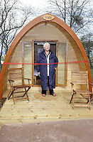 Whipsnade, Bedfordshire, England - Pam St. Clement launches Lookout Lodges at ZSL Whipsnade Zoo, Bedfordshire - April 4th 2012..Photo by Ross Stratton.