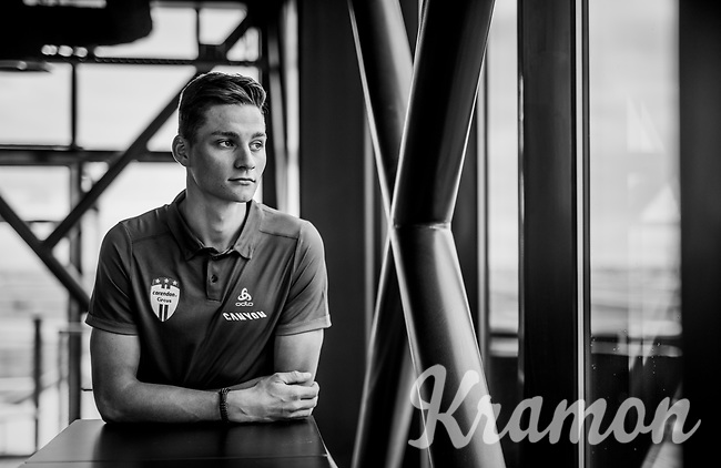 Mathieu van der Poel / Corendon-Circus <br /> <br /> Corendon-Circus pre-2019 press conference<br /> <br /> Amsterdam, 17 december 2018