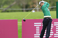 Ai Miyazato (JPN) playing her final tournament of her career   tees off the 7th tee during Wednesday's Pro-Am Day of The Evian Championship 2017, the final Major of the ladies season, held at Evian Resort Golf Club, Evian-les-Bains, France. 13th September 2017.<br /> Picture: Eoin Clarke | Golffile<br /> <br /> <br /> All photos usage must carry mandatory copyright credit (&copy; Golffile | Eoin Clarke)