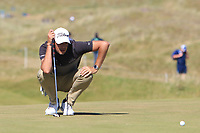 Simon Thornton (IRL) on the 9th green during Round 2 of the Dubai Duty Free Irish Open at Ballyliffin Golf Club, Donegal on Friday 6th July 2018.<br /> Picture:  Thos Caffrey / Golffile