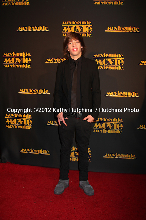 LOS ANGELES - FEB 10:  Jimmy Bennett arrives at the 2012 Movieguide Awards at Universal Hilton Hotel on February 10, 2012 in Universal City, CA
