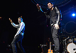 FORT LAUDERDALE, FL - OCTOBER 22: Nick Carter and Jordan Knight perform at Revolution Live on Wednesday October 22, 2014 in Fort Lauderdale, Florida. (Photo by Johnny Louis/jlnphotography.com)