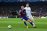 UEFA Champions League 2017/2018.<br /> Round of 16 2nd leg.<br /> FC Barcelona vs Chelsea FC: 3-0.<br /> Aleix Vidal vs Marcos Alonso.