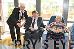 Johnny Wall (mayor of Tralee), Terry O'Brien (mayor of Kerry) and Jerry O'Brien at the opening of the Tralee Community Nursing Unit.