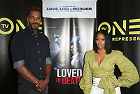 10 July 2019 - Los Angeles, California - McKinley Freeman, Malinda Williams. LA Press Junket For TV One's A Month Of Love, Lies, And Murder held at TV One Headquarters. Photo Credit: Faye Sadou/AdMedia