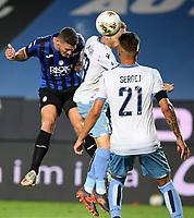 24th June 2020, Bergamo, Italy; Seria A football league, Atalanta versus Lazio;  Atalantas Robin Gosens scores his goal for 1-2