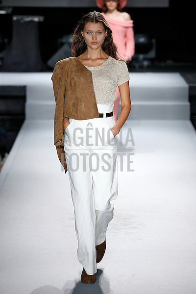 Paris, Fran&ccedil;a &sbquo;09/2014 - Desfile de Agnes B durante a Semana de moda de Paris  -  Verao 2015. <br /> <br /> Foto: FOTOSITE