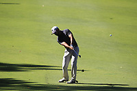 James Nitties (AUS) in action on the 1st during the Matchplay Final of the ISPS Handa World Super 6 Perth at Lake Karrinyup Country Club on the Sunday 11th February 2018.<br /> Picture:  Thos Caffrey / www.golffile.ie<br /> <br /> All photo usage must carry mandatory copyright credit (&copy; Golffile   Thos Caffrey)