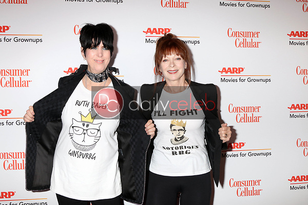 Diane Warren, Frances Fisher<br /> at the AARP Movies for Growups Awards, Beverly Wilshire Hotel, Beverly Hills, CA 02-04-19<br /> David Edwards/DailyCeleb.com 818-249-4998