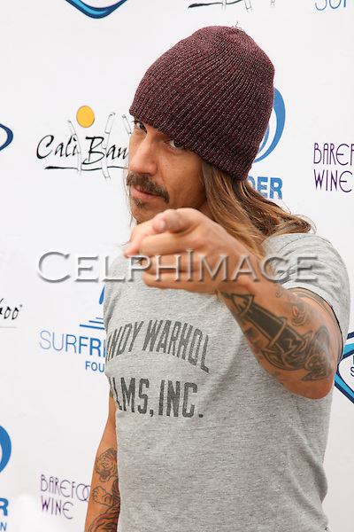 ANTHONY KIEDIS. 5th Annual Surfrider Foundation Expressions Session at Surfrider Beach. Malibu, CA, USA. September 11, 2010. ©CelphImage
