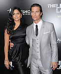 Matthew McConaughey and Camila Alves at The Lionsgate Screening of The Lincoln Lawyer held at The Arclight Theatre in Hollywood, California on March 10,2011                                                                               © 2010 Hollywood Press Agency
