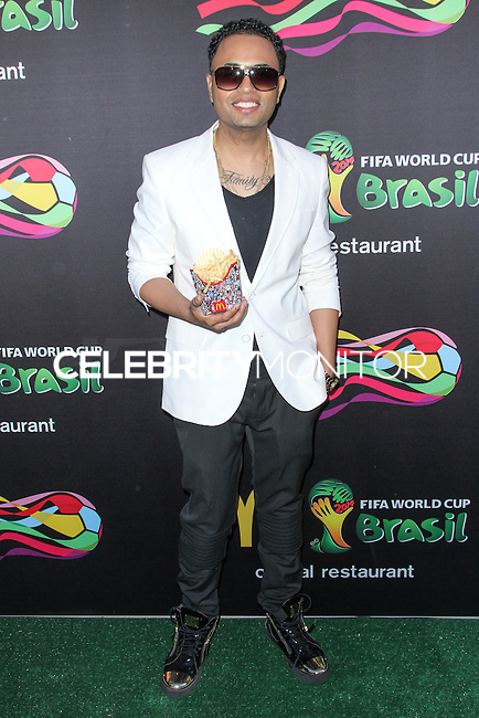 NEW YORK CITY, NY, USA - JUNE 05: Toby Love at the 2014 FIFA World Cup McDonald's Launch Party held at Pillars 38 on June 5, 2014 in New York City, New York, United States. (Photo by Jeffery Duran/Celebrity Monitor)