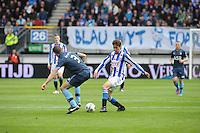VOETBAL: HEERENVEEN: Abe Lenstra Stadion, SC Heerenveen - Feyenoord, 06-05-2012, Stefan de Vrij (#3), Filip Djuricic (#11), Eindstand 2-3, ©foto Martin de Jong