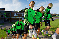 Tom Carroll of Swansea City during the Swansea City Training Session at The Fairwood Training Ground in Swansea, Wales, UK. Wednesday 16 October 2019