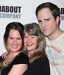 Keira Keeley, Judith Ivey & Patch Darragh attending the Meet & Greet for the Roundabout Theatre Company's production of THE GLASS MENAGERIE in New York City.<br />