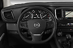 Car pictures of steering wheel view of a 2020 Opel Vivaro Innovation 4 Door Combi