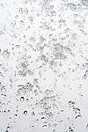 wet snow sticking to a window