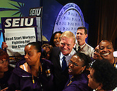 United States Representative Dick Gephardt (Democrat of Missouri), a candidate for the 2004 Democratic Presidential nomination, speaks at the Service Employees International Union 2003 Political Action Conference in Washington, DC on September 8, 2003..Credit: Ron Sachs / CNP