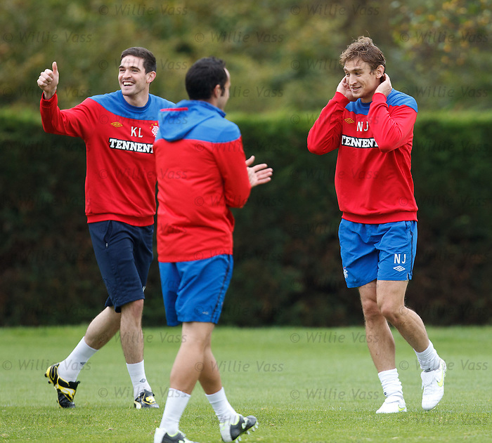 Kyle Lafferty and Nikica Jelavic