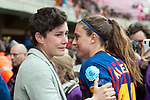 UEFA Women's Champions League 2018/2019.<br /> Semi Finals<br /> FC Barcelona vs FC Bayern Munchen: 1-0.<br /> Laura Rafols & Alexia Putellas.
