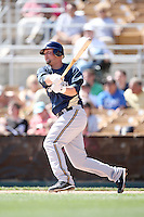 March 11,2009: Casey McGehee (52) of the Milwaukee Brewers at Camelback Ranch in Glendale, AZ.  Photo by: Chris Proctor/Four Seam Images