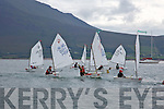 At the Fenit Sailing School Munster optimist Competition on Saturday