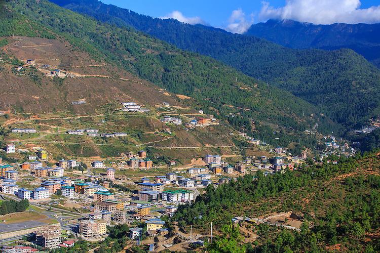 Bhutanese Rural Landscape
