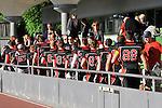 Die Spieler der Rhein Neckar Bandits bedanken sich bei den Fans beim Spiel der GFL, Rhein-Neckar Bandits - Allgaeu Comets.<br /> <br /> Foto &copy; Rhein-Neckar-Picture *** Foto ist honorarpflichtig! *** Auf Anfrage in hoeherer Qualitaet/Aufloesung. Veroeffentlichung ausschliesslich fuer journalistisch-publizistische Zwecke. For editorial use only.