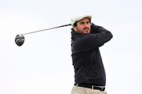 John Greene (Portmarnock) on the 16th tee during Round 2 of The East of Ireland Amateur Open Championship in Co. Louth Golf Club, Baltray on Sunday 2nd June 2019.<br /> <br /> Picture:  Thos Caffrey / www.golffile.ie<br /> <br /> All photos usage must carry mandatory copyright credit (© Golffile   Thos Caffrey