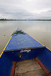 Front Of Boat, On The Way to Tiputini
