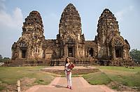 Prang Sam Yod (The Monkey Temple) - Lopburi - 14.02.2019