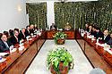 Iraq 2009.Meeting in Dukan of KDP and PUK with Jalal Talabani and Masoud Barzani for the preparation of the  elections   <br /> Irak 2009. Rencontre a Dokan du PDK et de l'UPK en presence de Jalal Talabani et Masoud Barzani pour la preparation des elections