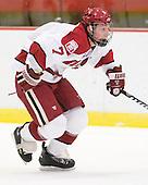 Danny Fick (Harvard - 7) - The visiting Quinnipiac University Bobcats defeated the Harvard University Crimson 3-1 on Wednesday, December 8, 2010, at Bright Hockey Center in Cambridge, Massachusetts.