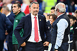 Cardiff - UK - 6th September :<br />Wales v Azerbaijan European Championship 2020 qualifier at Cardiff City Stadium.<br />Wales Football Manager Ryan Giggs ahead of kick off.<br /><br />Editorial use only