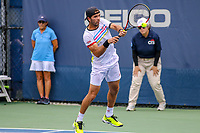 Washington, DC - August 3, 2019:  Jean-Julien Rojer (NED)returns the ball during the  Men Doubles semi finals at William H.G. FitzGerald Tennis Center in Washington, DC  August 3, 2019.  (Photo by Elliott Brown/Media Images International)