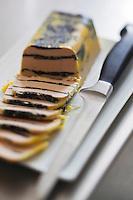 Europe/Europe/France/Midi-Pyrénées/46/Lot/Cahors: Repas chez Pierre-Jean Pebeyre et son épouse Elisabeth - Le foie gras