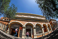 Oficinas del SNTE de la plaza Hidalgo en Hermosillo.<br /> Foto: LuisGutierrrez/NortePhoto