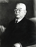Undated - Shibasaburo Kitasato (1853-1931) was a Japanese physician and bacteriologist. He studied under Dr. Robert Koch in University of Berlin from 1885 to 1891. In 1889, he was the first person to grow the tetanus bacillus in pure culture, and in 1890 cooperated with Emil von Behring in developing a serum therapy for tetanus using this pure culture. Also he is remembered as the co-discoverer of the infectious agent of bubonic plague in Hong Kong in 1894, almost simultaneously with Alexandre Yersin.  (Photo by Kingendai Photo Library/AFLO)