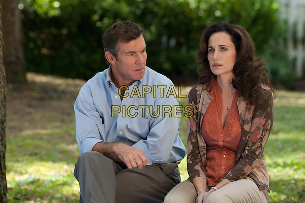 Dennis Quaid & Andie MacDowell .in Footloose.*Filmstill - Editorial Use Only*.CAP/FB.Supplied by Capital Pictures.