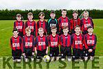 The Mastergeeha  team that played Inter Kenmare in th u12 league clash in Mastergeeha on Saturday front l-r: Ryan Daly, Daniel Kelly, Anthony Carroll, Darragh O'Shea, Donagh Fahy, Dara fitzgerald, Colin O'Leary. Back row: aaron O'Leary, oisin o'Leary, oran Dwyer, john Cronin, Mark o'Shea, Turlough O'connor, Dara O'Callaghan