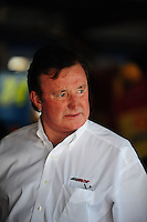 Oct 3, 2008; Talladega, AL, USA; NASCAR Sprint Cup Series team owner Richard Childress during practice for the Amp Energy 500 at the Talladega Superspeedway. Mandatory Credit: Mark J. Rebilas-
