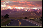 Road leading to Longs Peak at sunrise. I have lots of photography techniques depending on my guests. <br />