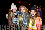 Ellen Lenihan, Niamh Ferris and Molly O'Keefe pictured at the Mounthawk Family First Walk, at the Canal on Friday night last